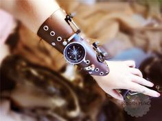 Steampunk PU Leather-based Bandage Glove Retro Arm Bracelet with Compass Screw Gear Halloween Costumes Punk Fashion Accent - CatalogMargo Steampunk Accessories, Costume Accessories, Fashion Accessories, Steampunk Armor, Steampunk Fashion, Boy Costumes, Halloween Costumes, Costume Ideas, Victorian Style Clothing