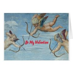 Valentine Cherubs Card - click/tap to personalize and buy