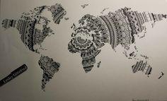 Mandala Worldmap