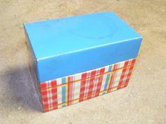 Recipe box from Ohio arts by ScribbleFitz on Etsy, $10.00