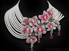 Jewelry by Natalia Khon: Jewellery masterpieces Luxury Jewelry, Modern Jewelry, Statement Jewelry, Jewelry Necklaces, Cz Jewellery, Handmade Jewellery, Jewellery Maker, Jewelry Holder, Body Jewelry