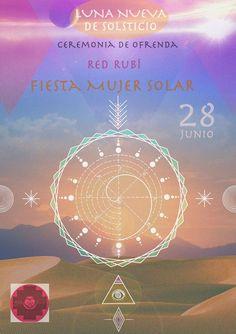 Primer Ciclo #Redrubi #Ofrenda Ceremonias de Luna Nueva© 2014
