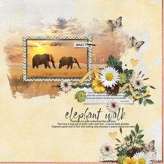 elephant walk - Scrapbook.com