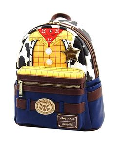 online shopping for Loungefly: Toy Story, Woody Cosplay Mini Backpack from top store. See new offer for Loungefly: Toy Story, Woody Cosplay Mini Backpack Cute Mini Backpacks, Casual Backpacks, Mini Mochila, Faux Leather Backpack, Leather Bag, Big Purses, Backpack Reviews, Cute Handbags, Backpack Purse