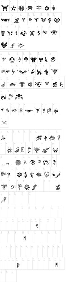 Tribal Tattoo Icons  #dragon #tattoos #tattoo