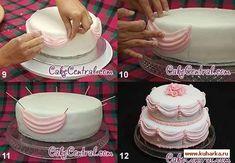 Maestro classi di decorazione di una torta