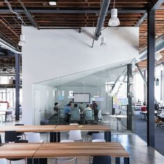 Workspace Pinterest Pinterests New Creative Offices in San Francisco Boasting Over Sized Volumes