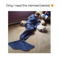Tag someone who'd love this mermaid blanket  @arielblankets Check out  @arielblankets  Shop now @arielblankets