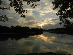 Sunset on the White River at Jacksonport, August 27th 2012 (Source: delana_epperson)