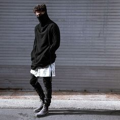 Black and White -New Street Style
