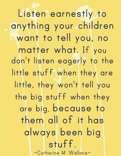 Blog post about listening, wholly and completely, to our students. Very important for #SchoolCounselors!