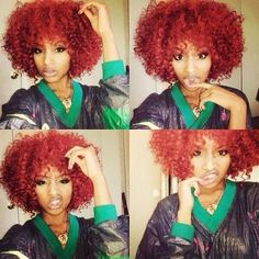 Curly red ❤️
