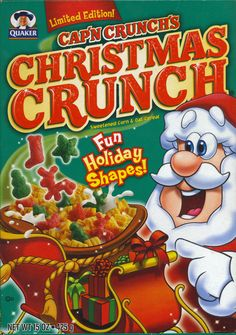 Christmas Crunch ©2004 The Quaker Oats Company