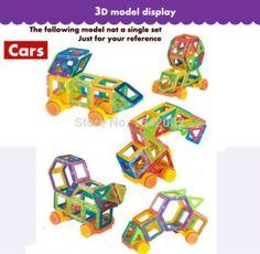 32PCS Mini Magnetic Designer Construction set Enlighten Bricks Magnetic Model & building blocks Educational toys for children : SHOP