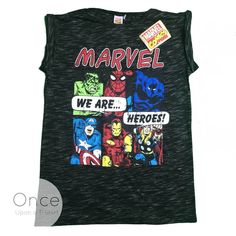 Ladies MARVEL We are Heroes AVENGERS T shirt from PRIMARK #Primark
