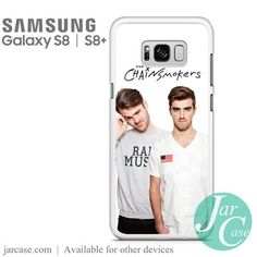 The Chainsmokers 2 Phone Case for Samsung Galaxy & Plus Galaxy S8, Samsung Galaxy, Chainsmokers, S8 Plus, Heat Transfer, Slim, Phone Cases, Music, Musica