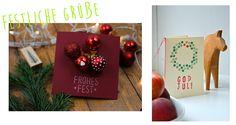 GIFTGUIDE #2 - Selbstgemachte  Weihnachtskarten