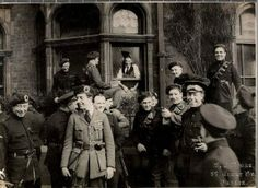 Black and Tans and Auxiliaries in Dublin, Ireland 1921- mass murderers of the innocent.....