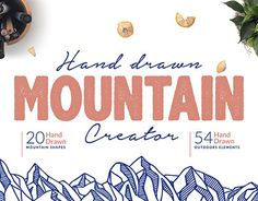 "Check out new work on my @Behance portfolio: ""Hand Drawn Mountain Creator Kit"" http://be.net/gallery/57327759/Hand-Drawn-Mountain-Creator-Kit"