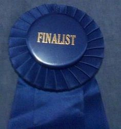 Did you know that the Blue Ribbon was originally a prize awarded to the fastest crossing of the Atlantic Ocean by a passenger ship and before that was worn by a particular order of knights? The spelling was then altered in the United States and the Blue Ribbon was then used to signify first place in athletic and fair competitions.