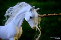 OOAK Unicorn Sculpture one of a kind polymer clay by Sovaeart