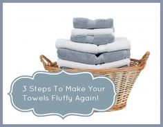 towels how to make fluffy