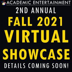 We're already planning our second annual fall virtual showcase! Details will be coming soon. whitney@academicentertainment.com 800-883-9883 #Virtual #VirtualLearning #VirtualAssembly #VIrtualSchoolShow #VirtualSchoolAssembly #OnlineLearning #ELearning #VisualLearning #VirtualClassroom #OnlineClassroom #SmartFun #AcademicEntertainment #OnlineAssembly #LiveStream #OnlineSchoolShow #OnlineSchoolAssembly #OnlineAssemblyProgram #ShowsForSchools #Showcase #Demo #Live #Online #Webinar Visual Learning, Online Classroom, Coming Soon, Entertainment, How To Plan, Detail, Live, School, Fall