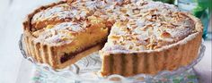 Crisp pastry, raspberry jam and a soft, nutty sponge topped with roast almonds – our dairy-free version of this classic is a real treat. Find a recipe for bakewell tart and more at www.asda.com/recipes.