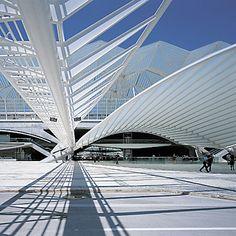 Oriente Station. Lisbon, Portugal Ludwig Mies Van Der Rohe, Architecture Details, Opera House, Lisbon Portugal, Building, Travel, Viajes, Buildings, Destinations