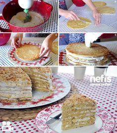 Bal Kaymak Pastası Nasıl Yapılır