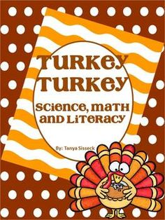 Super fun turkey pack! Great activities to help students learn all about turkeys! Fun and informative graphic organizers for early elementary students, plus activities for literacy and math! Great for getting your students in the mood for turkey day!