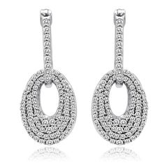 :) diamond earrings -
