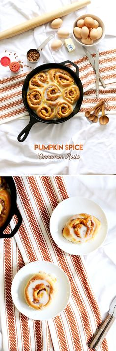 Pumpkin Spice Cinnamon Rolls | The Whisking Kitchen