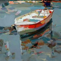 Boat .. reflections .. ripples