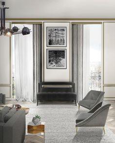 41 Must-Have Modern Sofas By BRABBU For A Chic Living Room. Interior Design, Chic Living Rooms, Home Decor. #decorationideas, #modernsofas, #najvelvetsofa. Read the full article here: http://modernsofas.eu/2017/02/28/must-have-modern-sofas-brabbu-chic-living-room-set/
