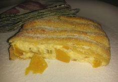 Tiroli barackos-túrós rétes, leveles tésztából French Toast, Sweets, Bread, Cookies, Breakfast, Diet, Crack Crackers, Morning Coffee, Gummi Candy