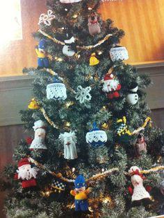 ultimate knit christmas tree holiday angel stocking santa snowman teddy bear
