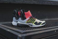 bd1138504cf0 Nike Lab Air Presto Mid (844672-100) Nike x Acronym - Volt Hot