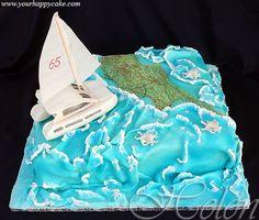 catamaran cake - Google Search