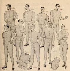 Men's underwear. Macy'sCatalogue : fall-winter, 1905-1906.