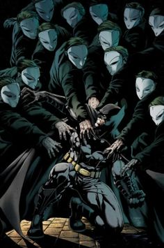 Batman - Night of the Owls by Jason Fabok I for one would love to see the next Batman film be based on The Court of Owls storyline from DC's New 52!