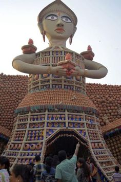 Welcome Kolkata Durga Puja 2015 Durga Puja Kolkata Folk Art Clay