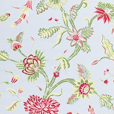 Georgetown in from the Sweet Life collection. Dining Room Wallpaper, View Wallpaper, Pattern Wallpaper, Construction Wallpaper, Matching Wallpaper, Red Design, Sweet Life, Designer Wallpaper, Color Themes