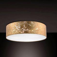 Hanglamp Shade - Goud - L - Paul Neuhaus Drum Pendant, Unique Furniture, New Homes, Shades, Ceiling Lights, Lighting, Home Decor, Homemade Home Decor, New Home Essentials