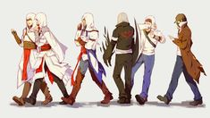 assassin s creed anime Assassian Creed, All Assassin's Creed, Assassins Creed Anime, Alex Mercer, Connor Kenway, Character Art, Character Design, Rome, Star Wars