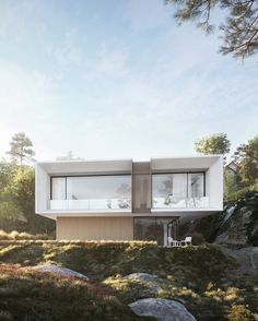 House in Norway Architect Design, Villa, Around The Worlds, Architecture, House Styles, Luxury, Outdoor Decor, Inspiration, Home Decor