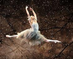 Snow Fairy from Birmingham Royal Ballet's 'The Nutcracker'