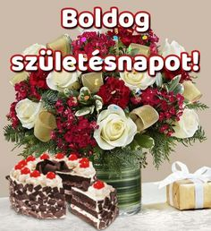 Happy Brithday, Share Pictures, Name Day, Lidl, Cooking Recipes, Birthday Cake, Food, Watch, Tulips