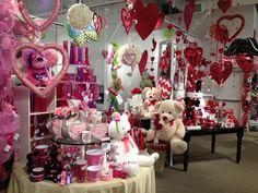 Valentine's Display from our Las Vegas Showroom - Summer 2013! #burtonandburton #valentine