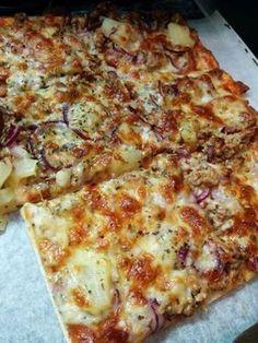 Jauheliha-pizza (pellillinen)